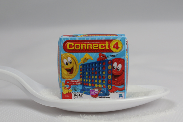 Connect 4 Dollhouse Game Box