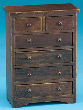 Chest of Drawers - Walnut