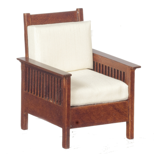 1909 Mission Lounge Chair - Walnut
