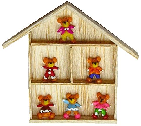 Teddy Bear Collection Shadow Box