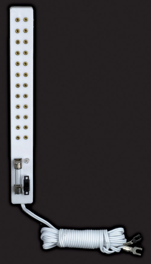 Power Strip w/ Switch & Fuse
