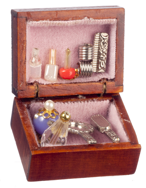 Dressing Table Box w/ Accessories