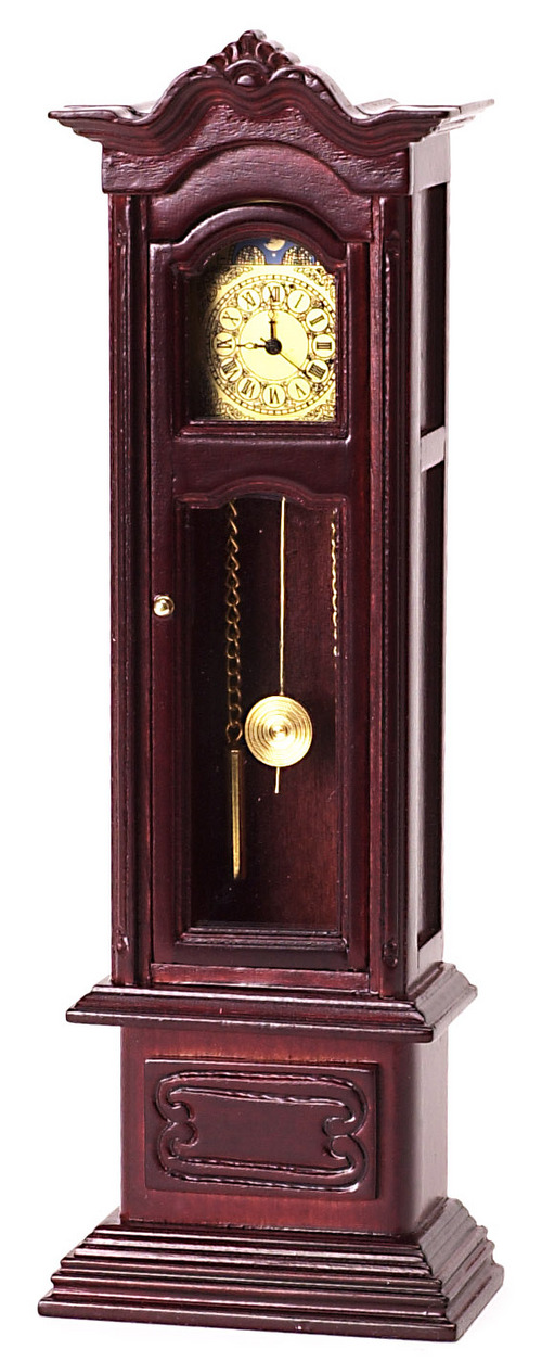 Mahogany Grandfather Clock Working