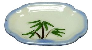 Ceramic Palm Serving Platter