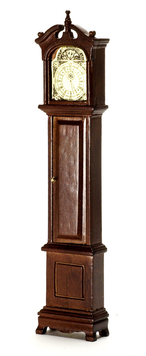Grandfather Clock - Walnut