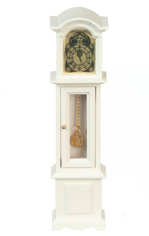 Grandfather Clock - White