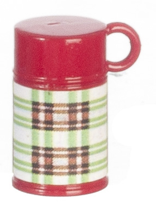 Classic Green Plaid Thermos