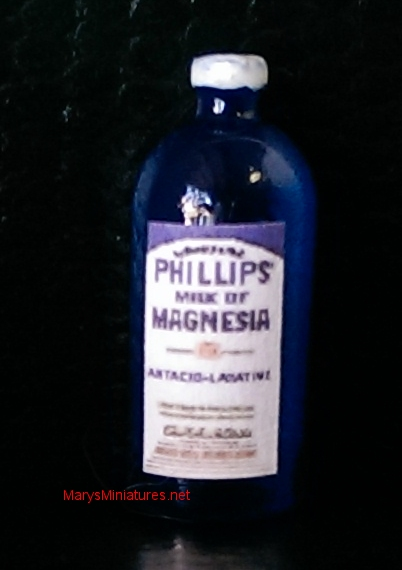 Bottle of Milk of Magnesia