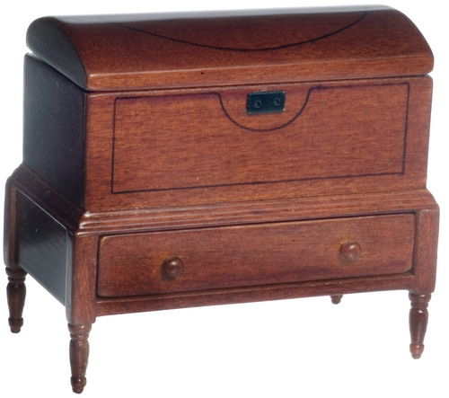 Lincoln Domed Walnut Chest