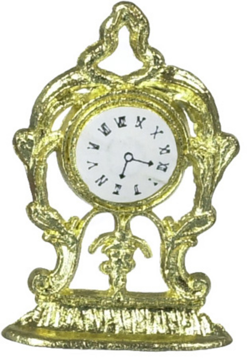 Gold Mantel Clock