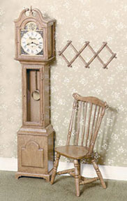Brown Grandfather Clock KIT