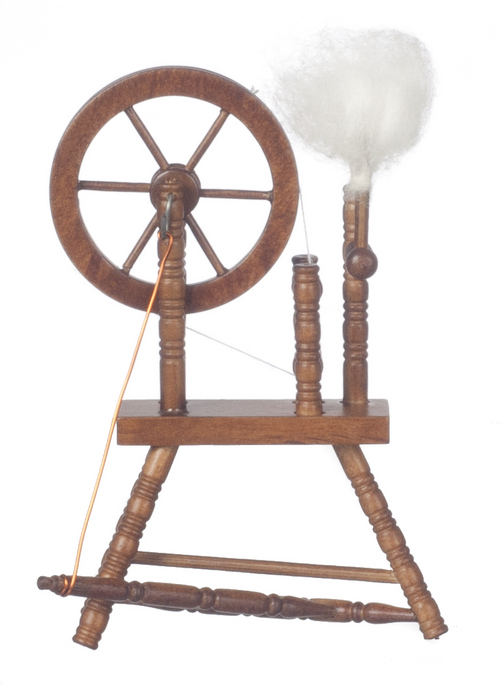 Spinning Wheel - Walnut