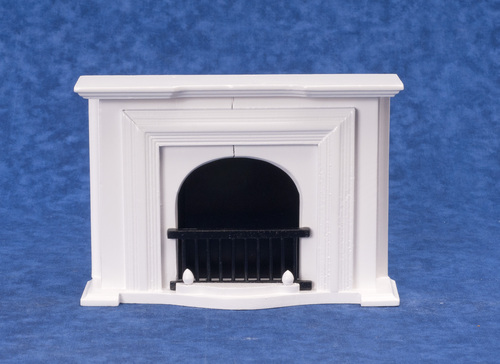 Fireplace - White