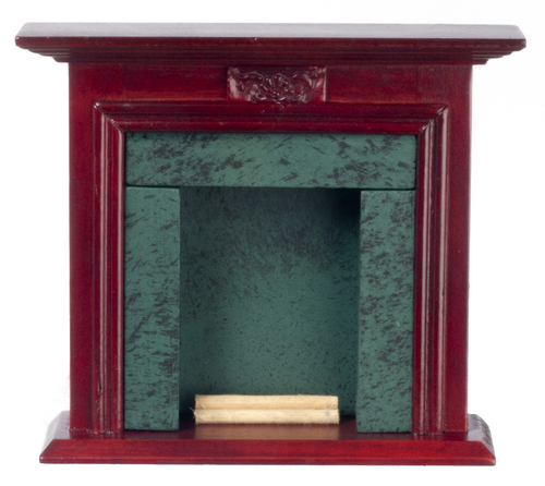 Fireplace - Mahogany