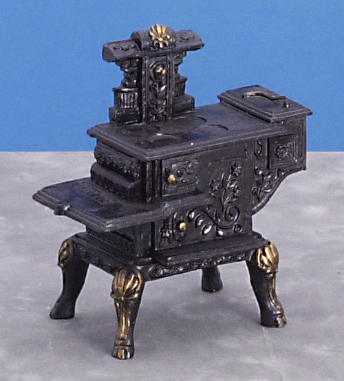 Black Resin Stove