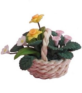 Assorted Flowers in Basket
