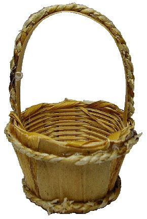 Bushel Basket with Handle