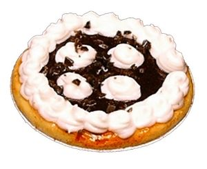 Chocolate Cream Puff Pie
