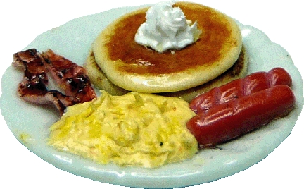 Egg and Pancake Breakfast