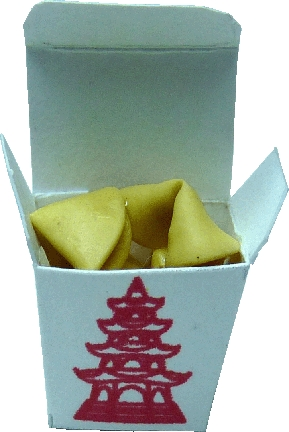 Fortune Cookies in Chinese Take Out