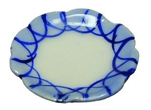 Blue Patterned Plate