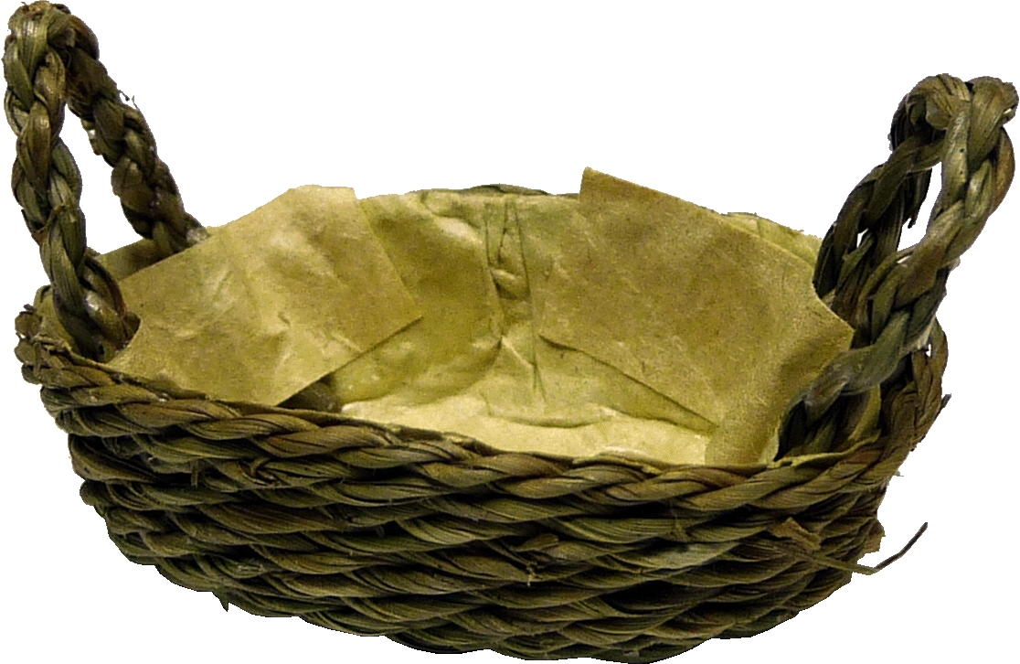 2 Handle Oval Basket