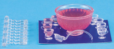Pink Party Punch Set 11 piece