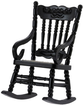 Gloucester Rocking Chair - Black