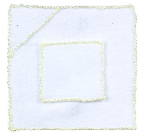 Yellow & White Baby Towel & Wash Cloth