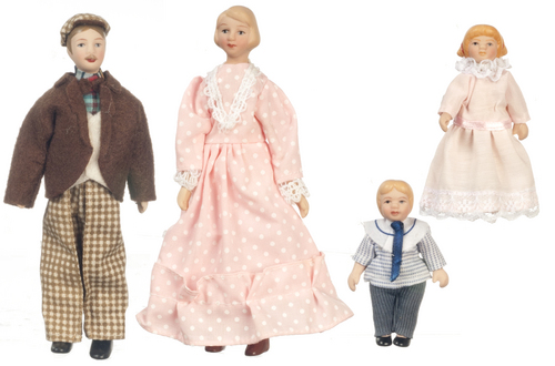 Porcelain Family Dolls