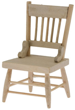 Country Dining Chair - Unfinished