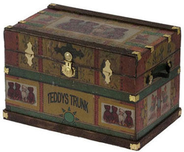 Lithograph Wooden Trunk Kit - Teddy Bear