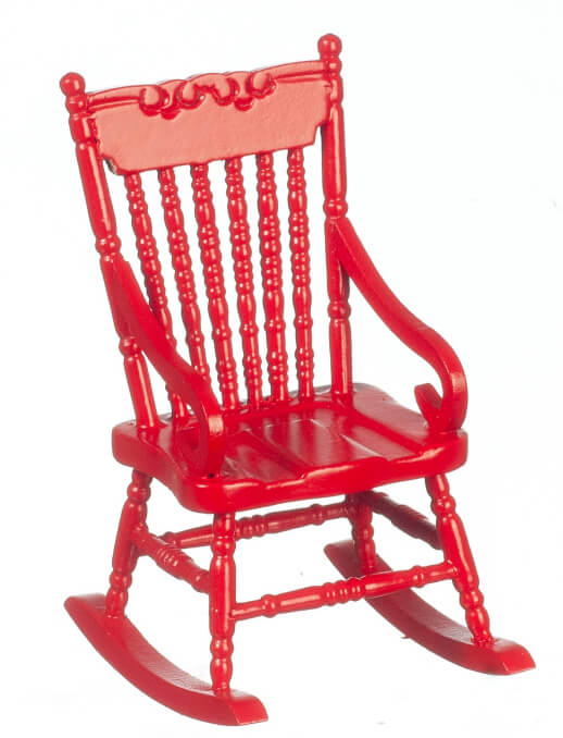 Rocking Chair - Red