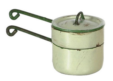 Beige Medium Double Boiler