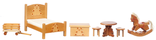 Bear Bedroom Set 7pc