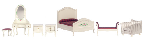 Mauve Bedroom Set 7pc