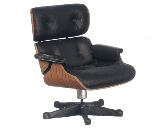 Eames Office Lounge Chair - Black