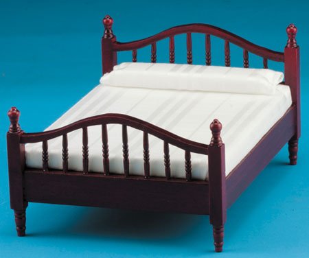 Double Bed - Mahogany