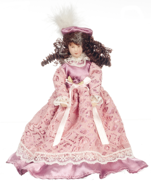 Victorian Porcelain Woman Doll