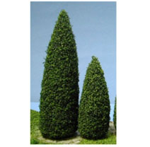 2-1/2 Inch Tall Pine Trees 4pc