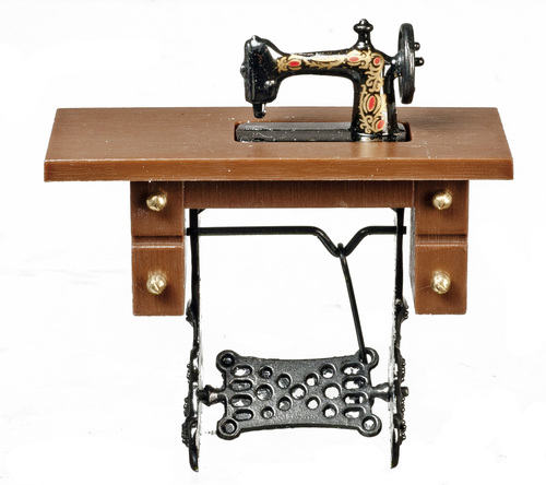 Antique Sewing Machine - Walnut