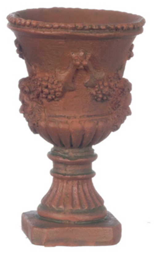 Green Terra Cotta : Large roman urn green terra cotta pc mary s