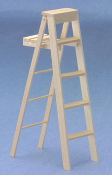 5 Inch Step Ladder Unfinished
