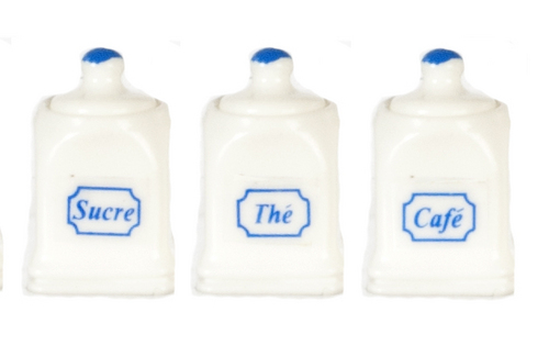 White Canister Set 3pc