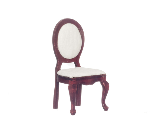 White Mirrorback Side Chair