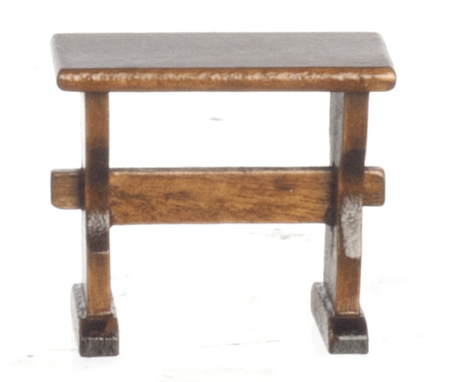 Nook Trestle Bench - Walnut